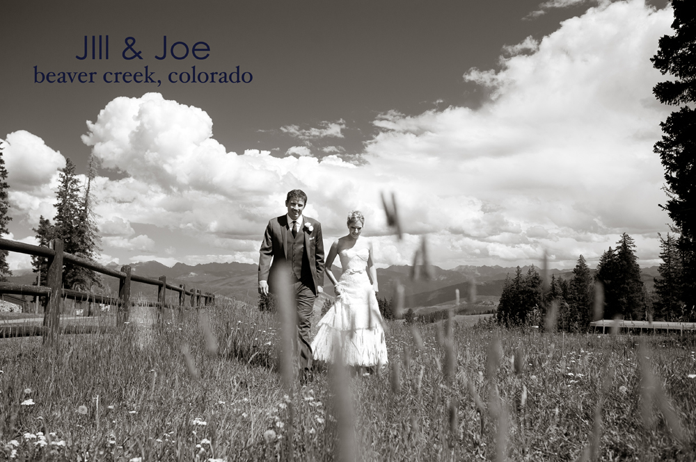 Jill joe beaver creek wedding nate and jenny weddings Allie s cabin beaver creek